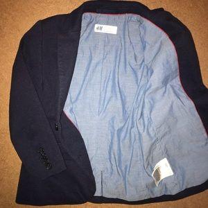 H&M Navy Blue Toddler Blazer